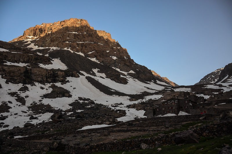 Czwórka zprzodu – Jebel Toubkal