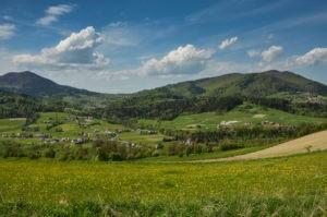 Czarny szlak Rabka - Mszana