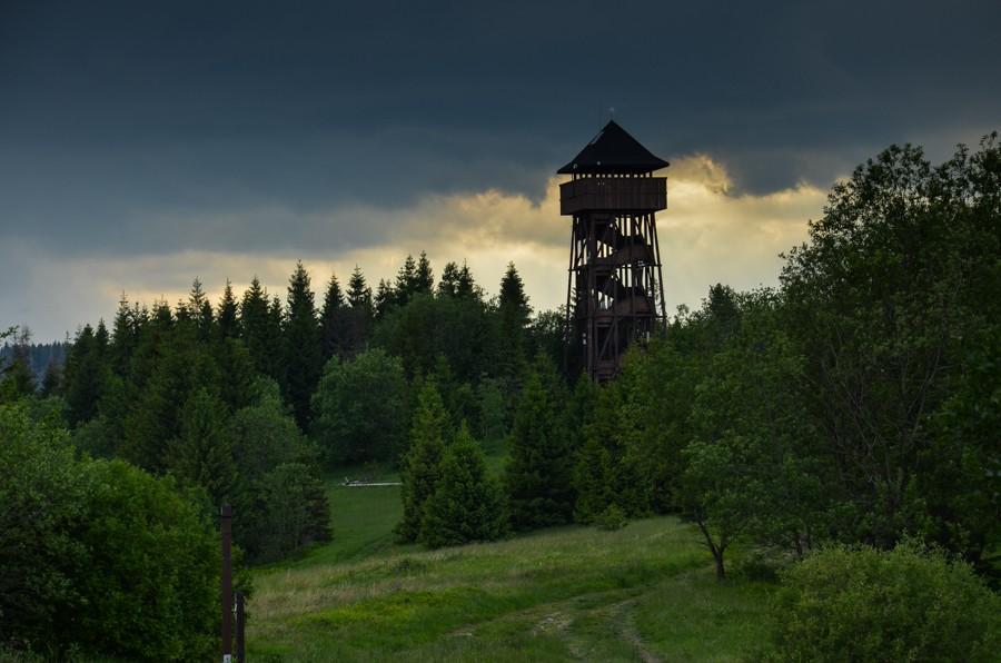 Wieże w Gorcach