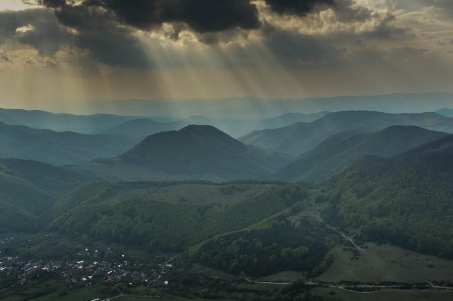 Strážov – najwyższy szczyt Gór Strażowskich