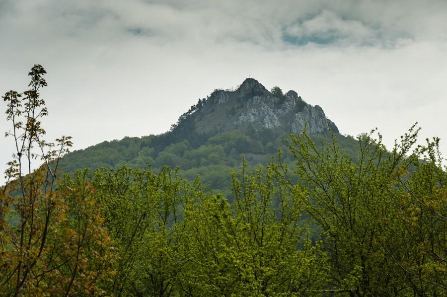 Vápeč – skalna pętla zHornej Poruby