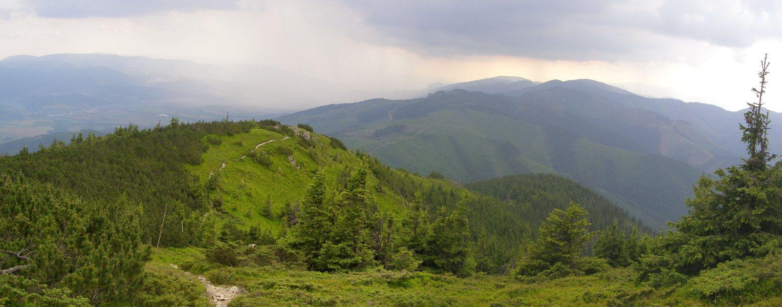 Ramža – útulna Andrejcová. PrzezWielką Wapienicę