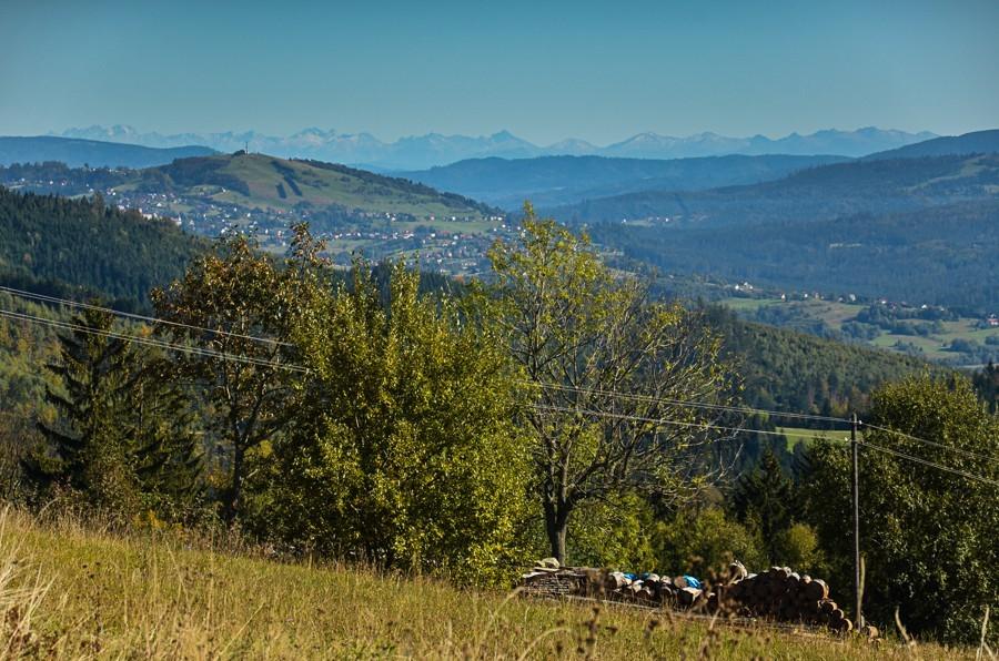 Filipka. Wczesna jesień wczeskim Beskidzie Śląskim