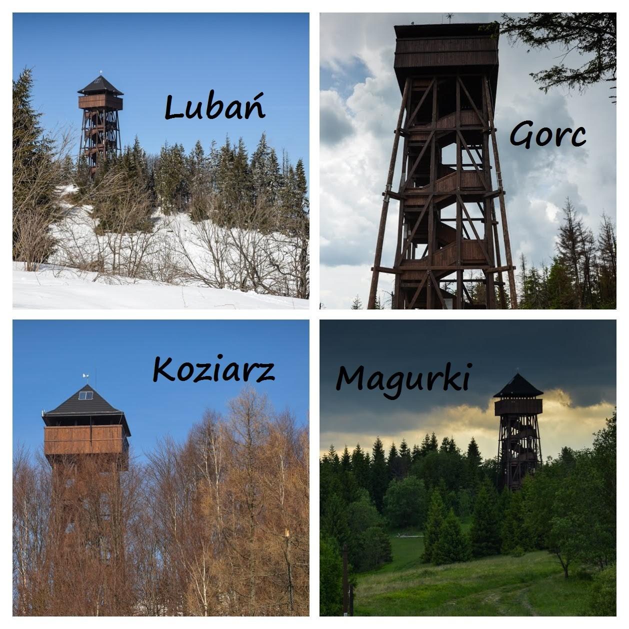 Wieże wGorcach