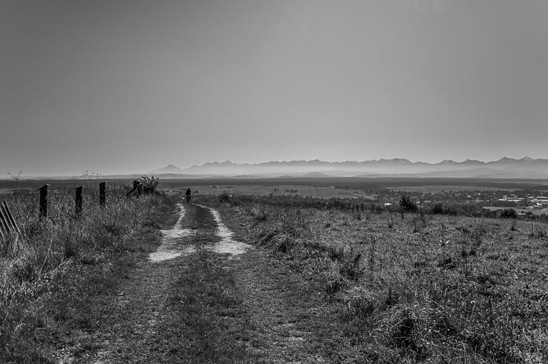 13 - Zielony szlak zJabłonki podBabią. Wcieniu wielkiej góry