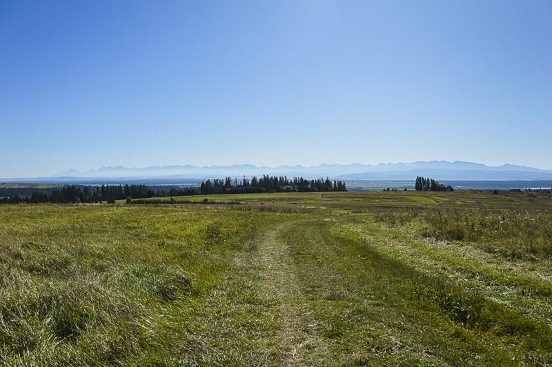 17 - Zielony szlak zJabłonki podBabią. Wcieniu wielkiej góry