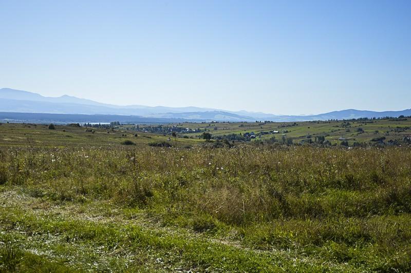 18 - Zielony szlak zJabłonki podBabią. Wcieniu wielkiej góry