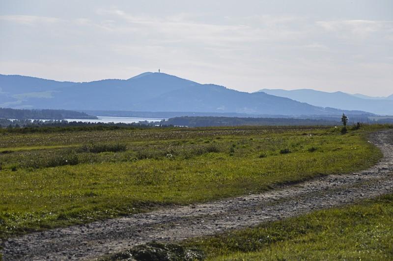 59 - Zielony szlak zJabłonki podBabią. Wcieniu wielkiej góry