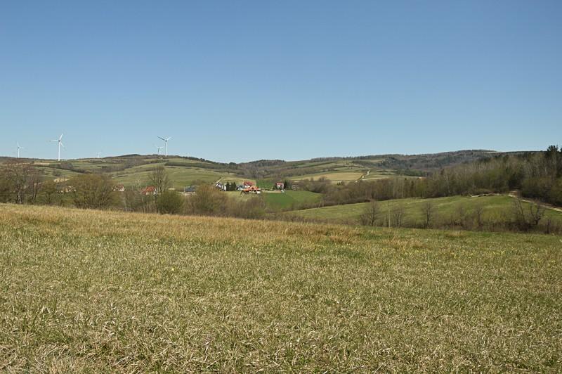31 - Kamienne - wysiedlona wieś Pogórza Bukowskiego
