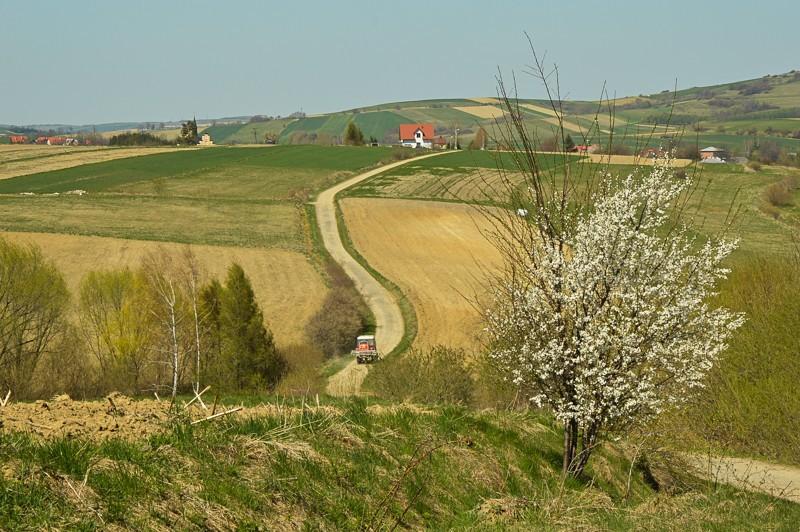 35 - Kamienne - wysiedlona wieś Pogórza Bukowskiego