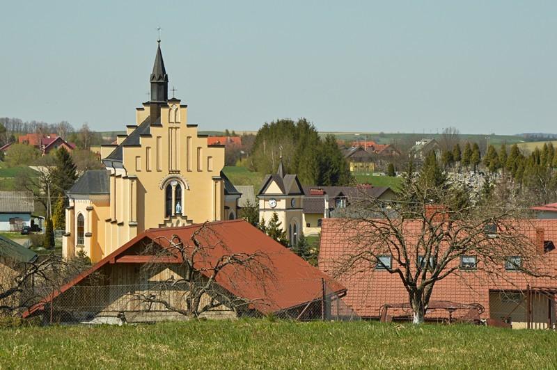 37 - Kamienne - wysiedlona wieś Pogórza Bukowskiego