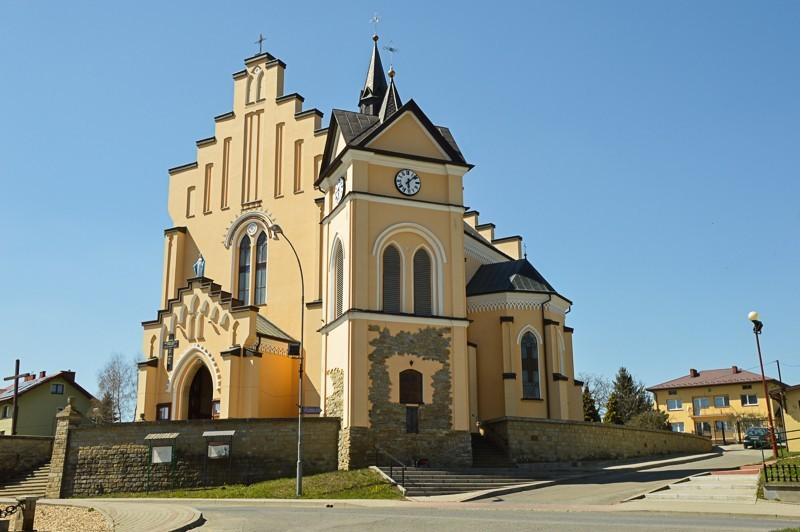 38 - Kamienne - wysiedlona wieś Pogórza Bukowskiego