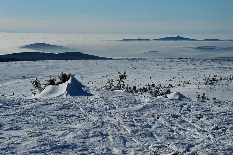 42 - Śnieżne Kotły zJagniątkowa. Polodowcowo izmgłami