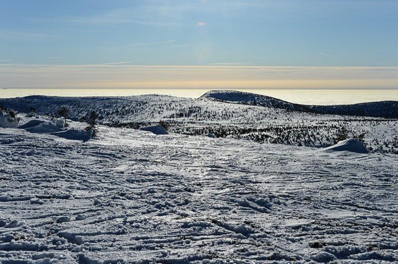 45 - Śnieżne Kotły zJagniątkowa. Polodowcowo izmgłami