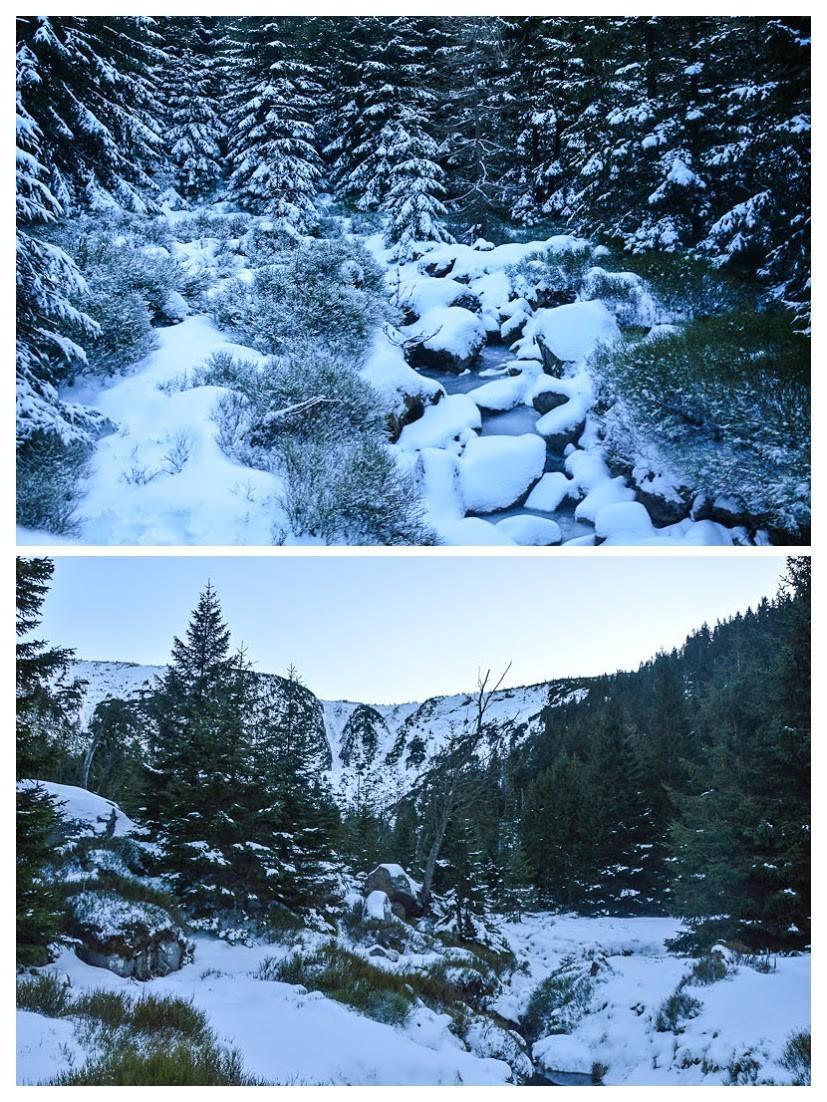 75 - Śnieżne Kotły zJagniątkowa. Polodowcowo izmgłami
