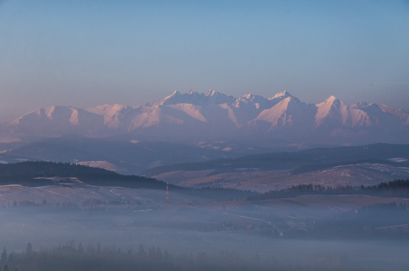 Wschód Przełęcz Snozka