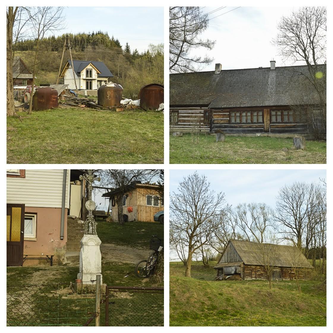 72 - Wola Michowa, Mików iSmolnik przezprzełęcz Żebrak