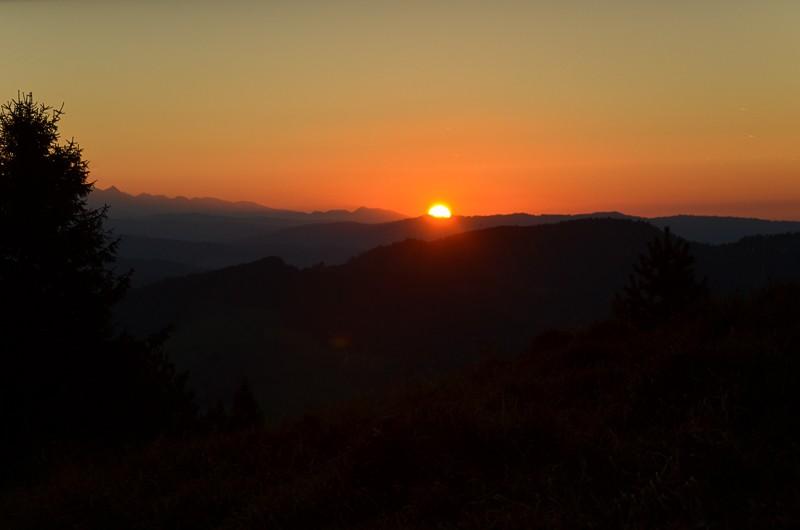 39 - Wysoki Wierch. Wyścig zczasem nazachód słońca