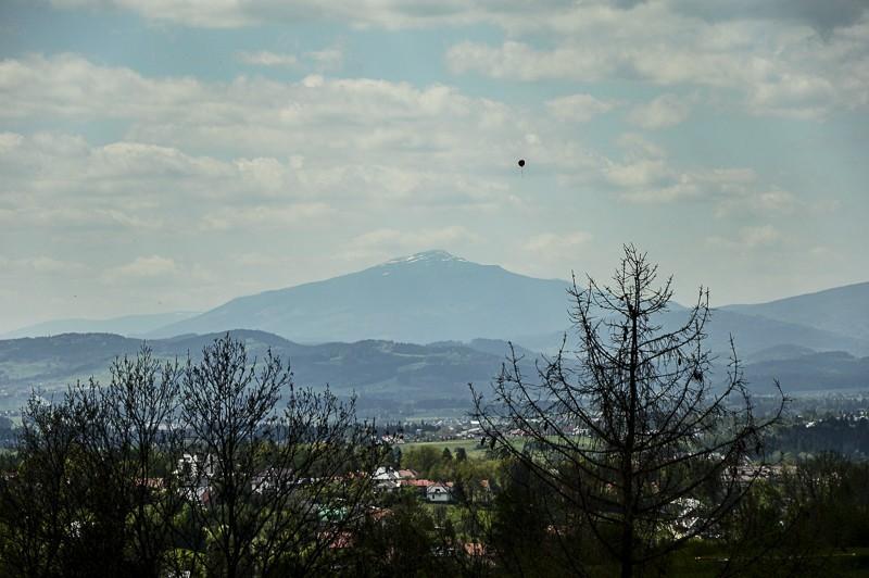 01 - Góra Chabówka. Widokowe szlaki wokolicach Rabki