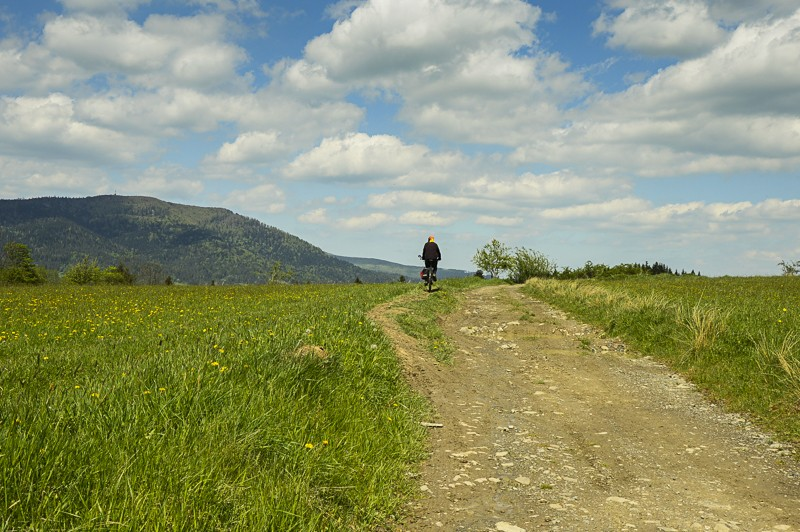 02 - Góra Chabówka. Widokowe szlaki wokolicach Rabki