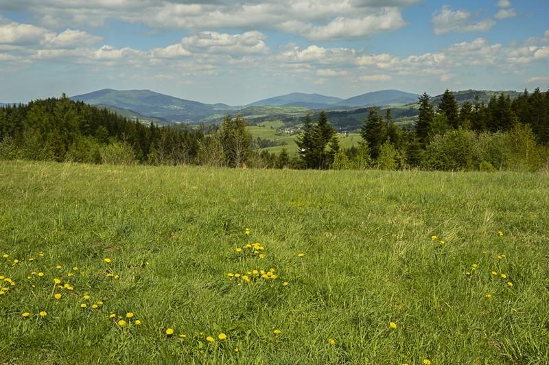 03 - Góra Chabówka. Widokowe szlaki wokolicach Rabki