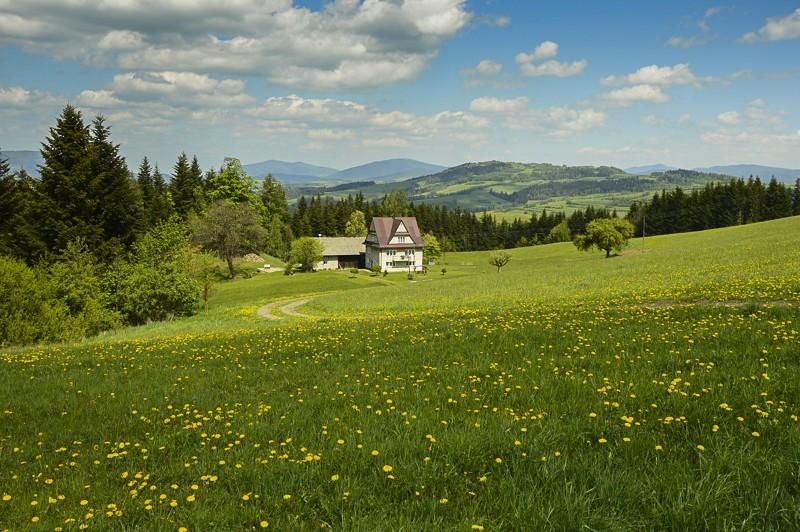 05 - Góra Chabówka. Widokowe szlaki wokolicach Rabki