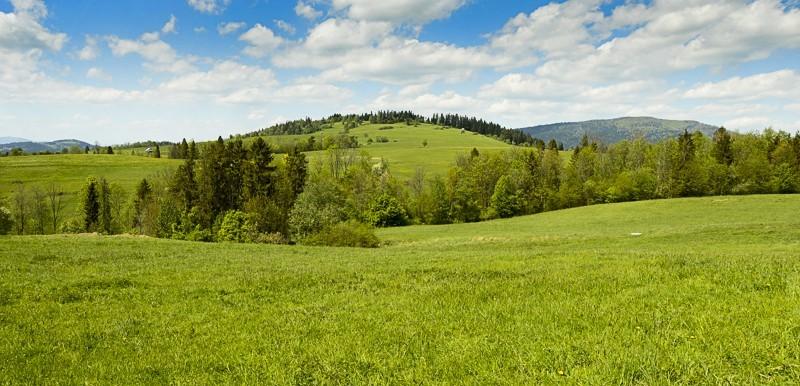 10 - Góra Chabówka. Widokowe szlaki wokolicach Rabki