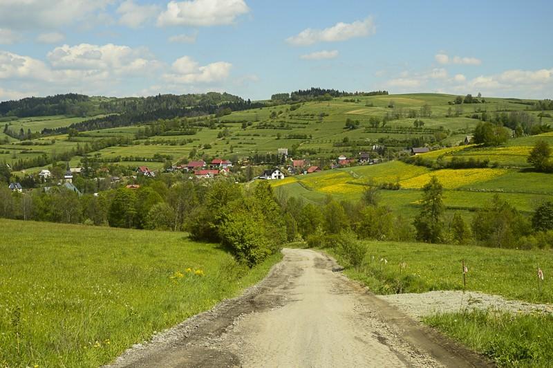 18 - Góra Chabówka. Widokowe szlaki wokolicach Rabki