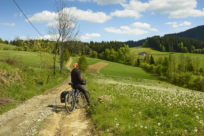 24 - Góra Chabówka. Widokowe szlaki wokolicach Rabki
