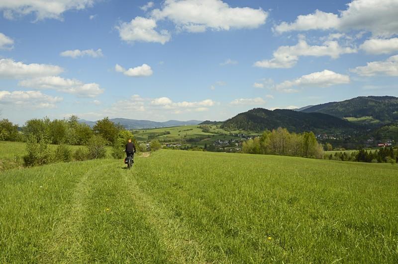 26 - Góra Chabówka. Widokowe szlaki wokolicach Rabki