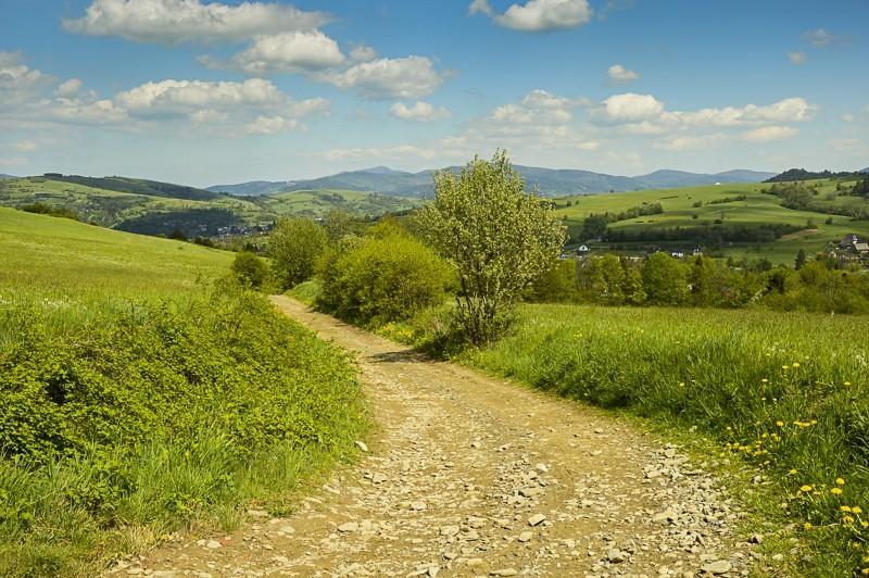28 - Góra Chabówka. Widokowe szlaki wokolicach Rabki