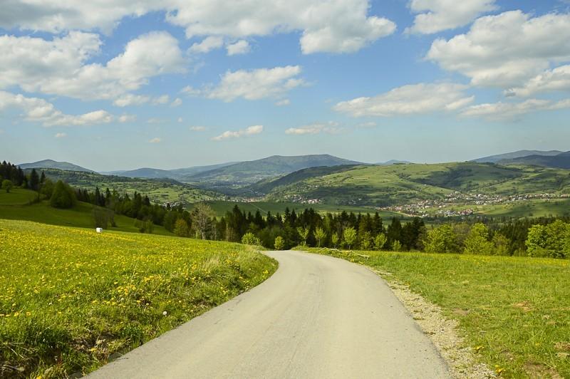 31 - Góra Chabówka. Widokowe szlaki wokolicach Rabki