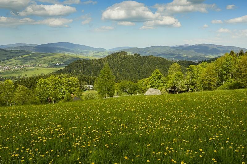32 - Góra Chabówka. Widokowe szlaki wokolicach Rabki