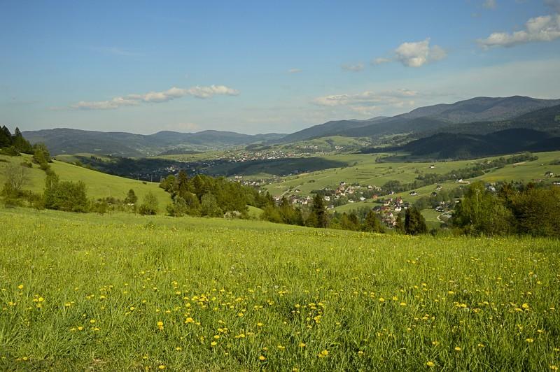 53 - Góra Chabówka. Widokowe szlaki wokolicach Rabki
