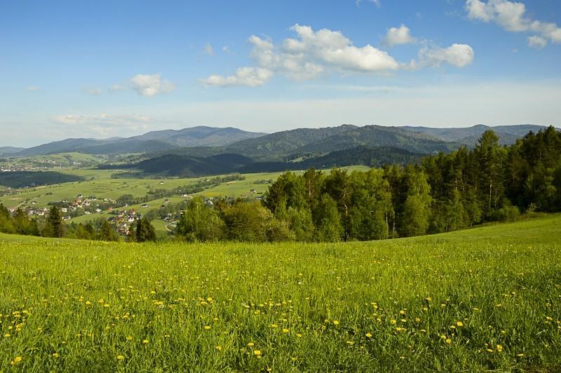 54 - Góra Chabówka. Widokowe szlaki wokolicach Rabki