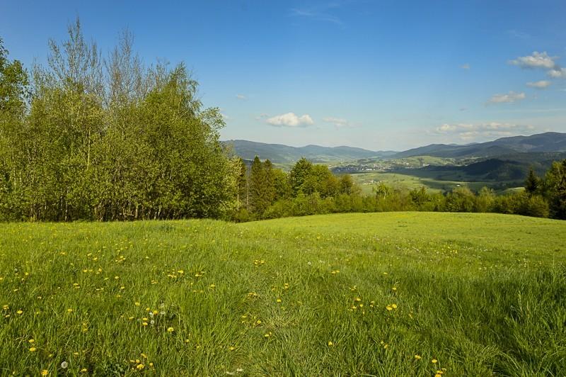 60 - Góra Chabówka. Widokowe szlaki wokolicach Rabki