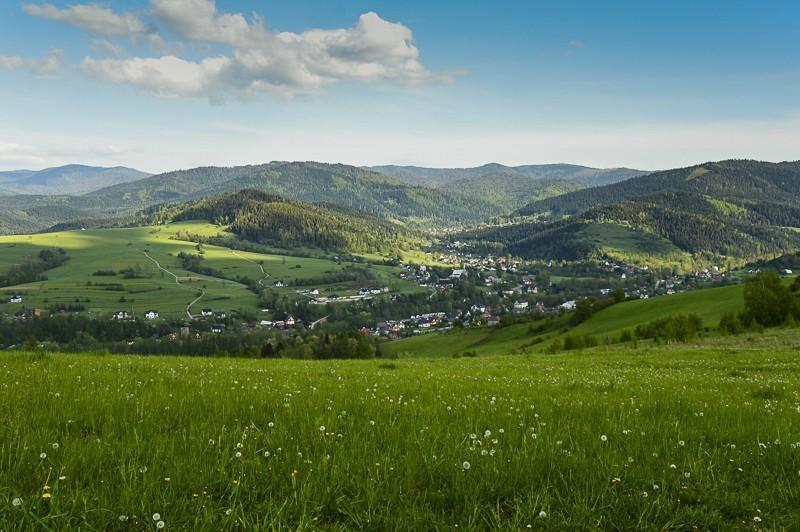 63 - Góra Chabówka. Widokowe szlaki wokolicach Rabki