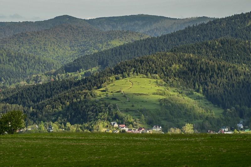 64 - Góra Chabówka. Widokowe szlaki wokolicach Rabki