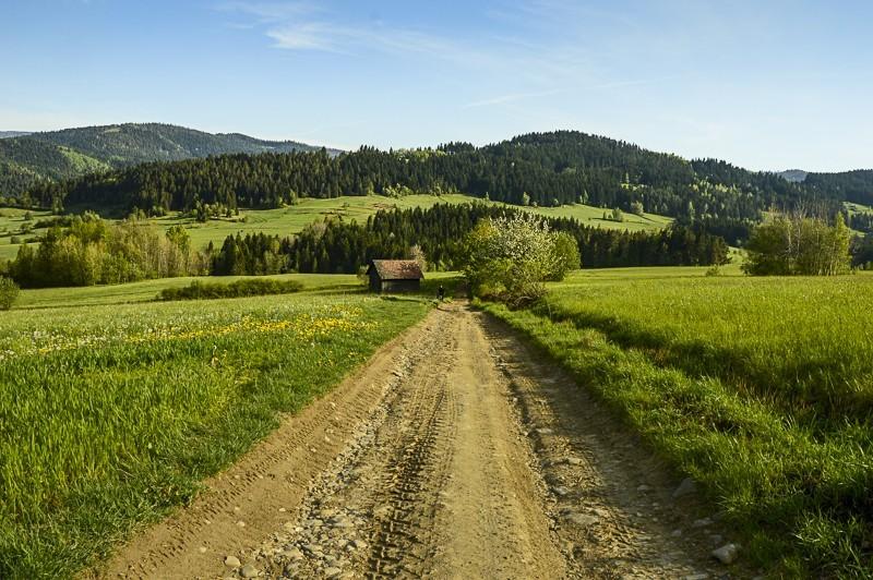 67 - Góra Chabówka. Widokowe szlaki wokolicach Rabki