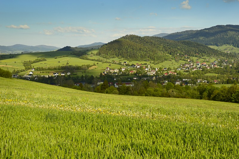 69 - Góra Chabówka. Widokowe szlaki wokolicach Rabki