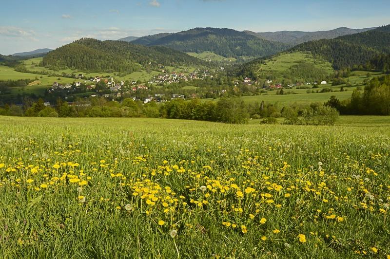 72 - Góra Chabówka. Widokowe szlaki wokolicach Rabki