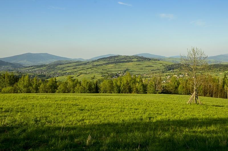 80 - Góra Chabówka. Widokowe szlaki wokolicach Rabki