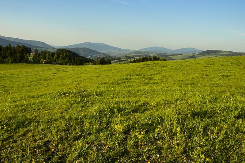 84 - Góra Chabówka. Widokowe szlaki wokolicach Rabki