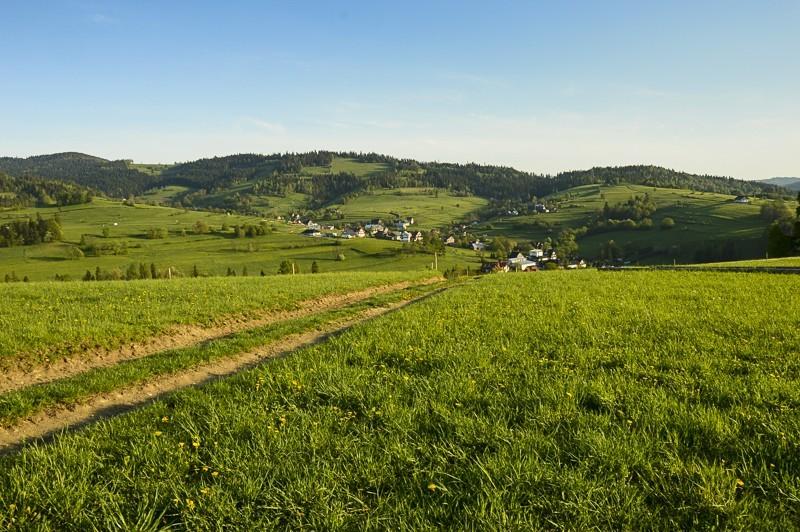 88 - Góra Chabówka. Widokowe szlaki wokolicach Rabki