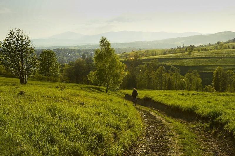 92 - Góra Chabówka. Widokowe szlaki wokolicach Rabki